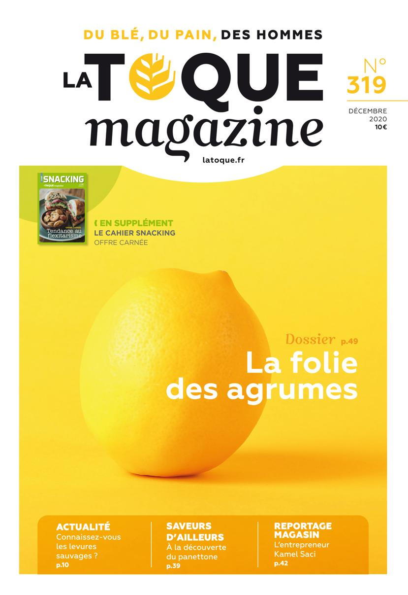 Couverture du magasine La Toque Magazine  n°319