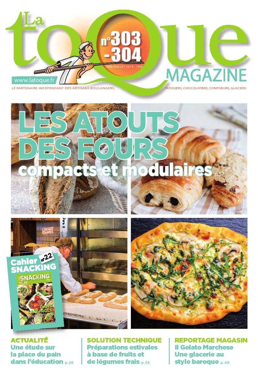 Couverture du magasine La Toque Magazine n°303